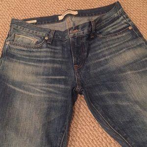 Lucky Brand sienna cigarette distressed  jean